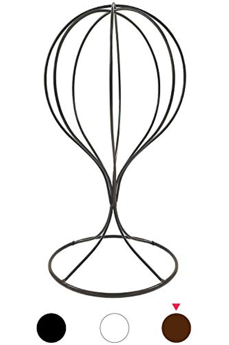 発音する人種カロリー(スリーボックス) 帽子スタンド 帽子掛け トルソー ディスプレイスタンド ウィッグスタンド 通気性 風通し 蒸れ防止 メンズ レディース 写真撮影用 展示用品 (ブロンズ)