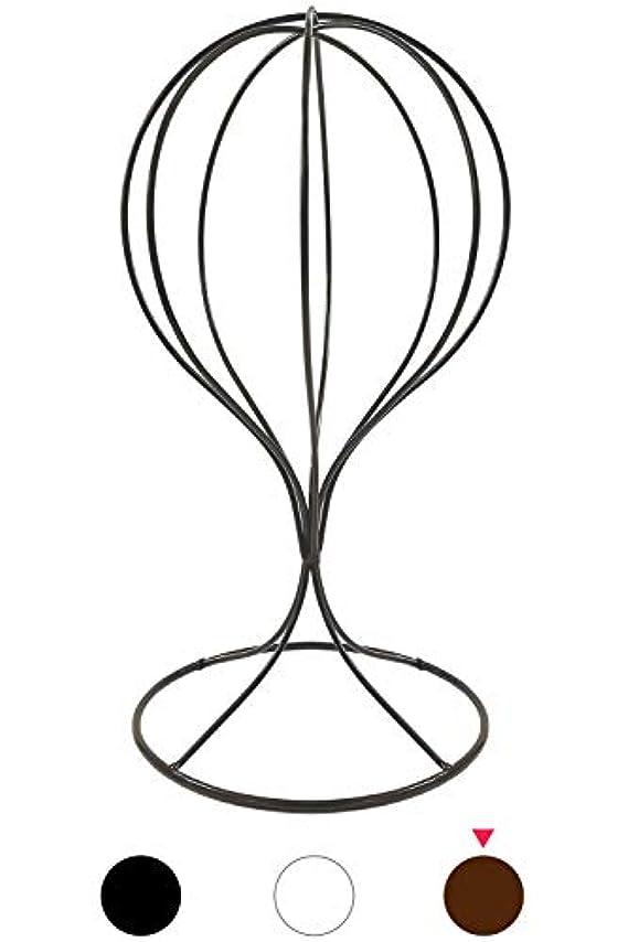チーフチチカカ湖四(スリーボックス) 帽子スタンド 帽子掛け トルソー ディスプレイスタンド ウィッグスタンド 通気性 風通し 蒸れ防止 メンズ レディース 写真撮影用 展示用品 (ブロンズ)