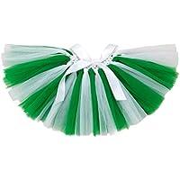 BESTOYARD St Patrick's Day Baby Girl Tutu Skirts Ballerina Girls Green Dress-Up Costume Ball Gown Skirt Dance Wear Party Clothes (0-2 Years)