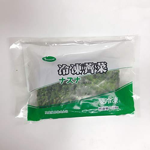 冷凍ナズナ(薺菜) ワンタンの具に 餃子の具に 業務用 中華食材 250g
