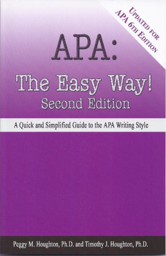 amazon co jp apa the easy way updated for apa 6th edition
