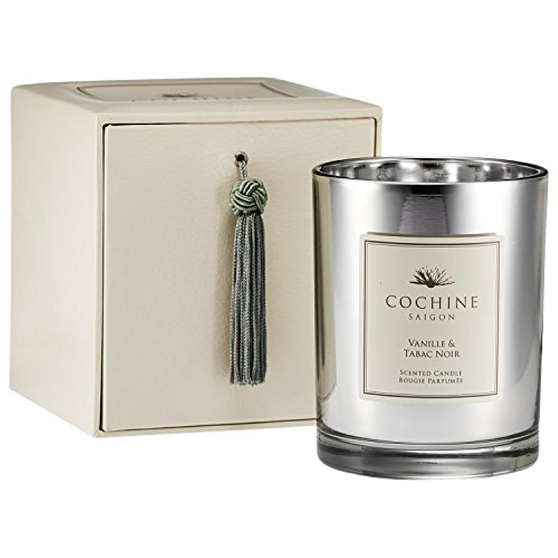 知覚できる性別納得させるCochine Vanille & Tabac Noir Scented Candle (Pack of 2) - Cochineヴァニラ&Tabacノワールの香りのキャンドル (Cochine) (x2) [並行輸入品]