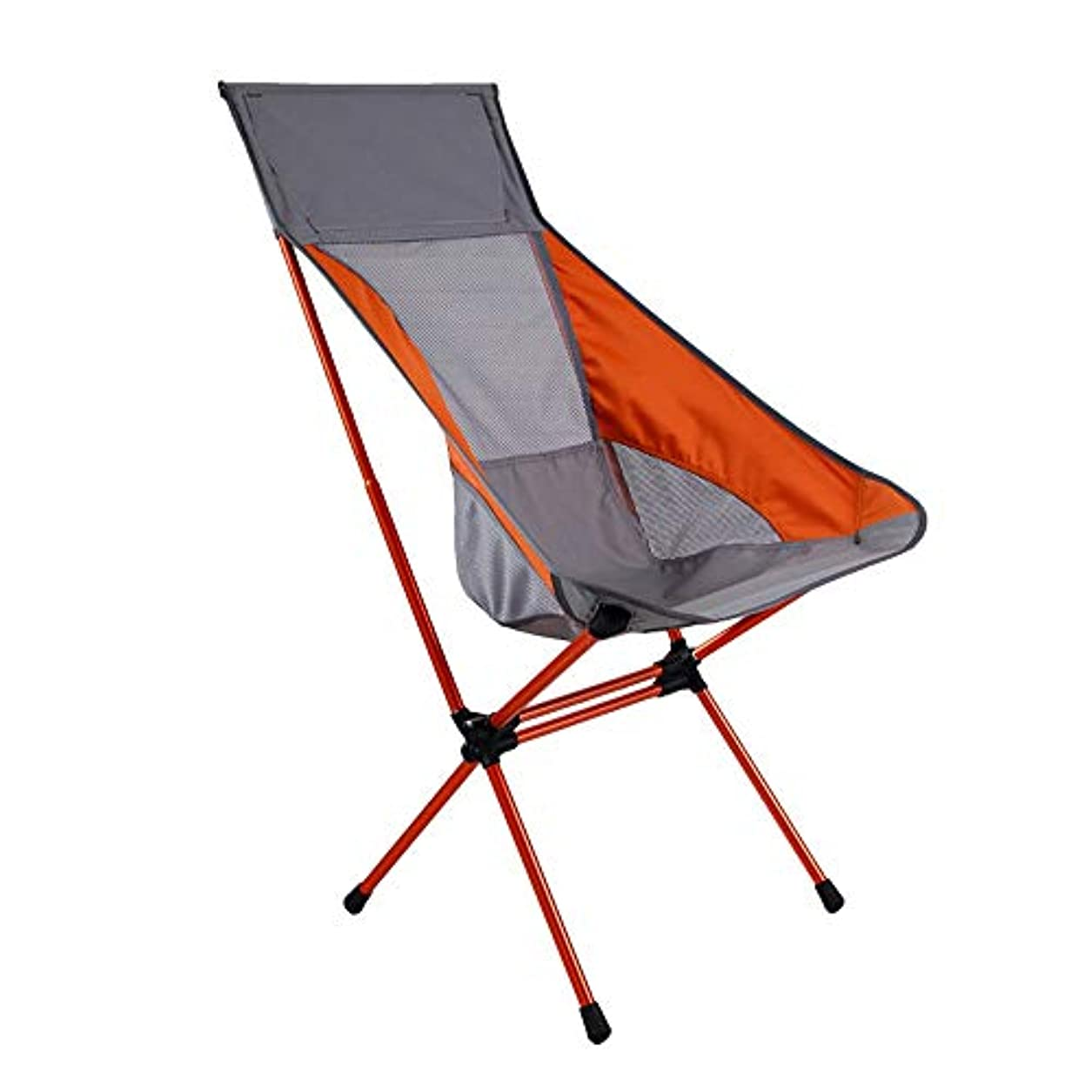 パトワチャレンジ突っ込む屋外のキャンプビーチ釣りピクニックのためのキャリーバッグにコンパクトポータブル超軽量折りたたみバックパッキングチェア アウトドア キャンプ用 (色 : グレー, サイズ : 43*36*96cm)