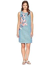 ワンピース 【Two Palms Short Sleeve Linen Shift Dress】 バハマ トミー ワンピース・ドレス Tommy Bahama Black レディース