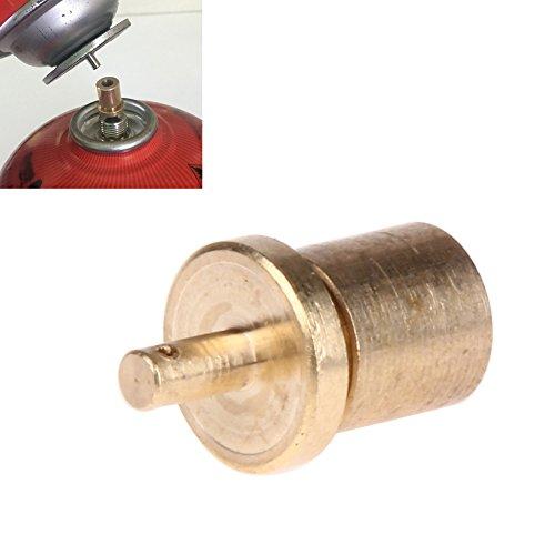 SIKIWIND ガスストーブアダプター カセットボンベ(CB缶)からアウトドア用ボンベ(OD缶) ゴールド
