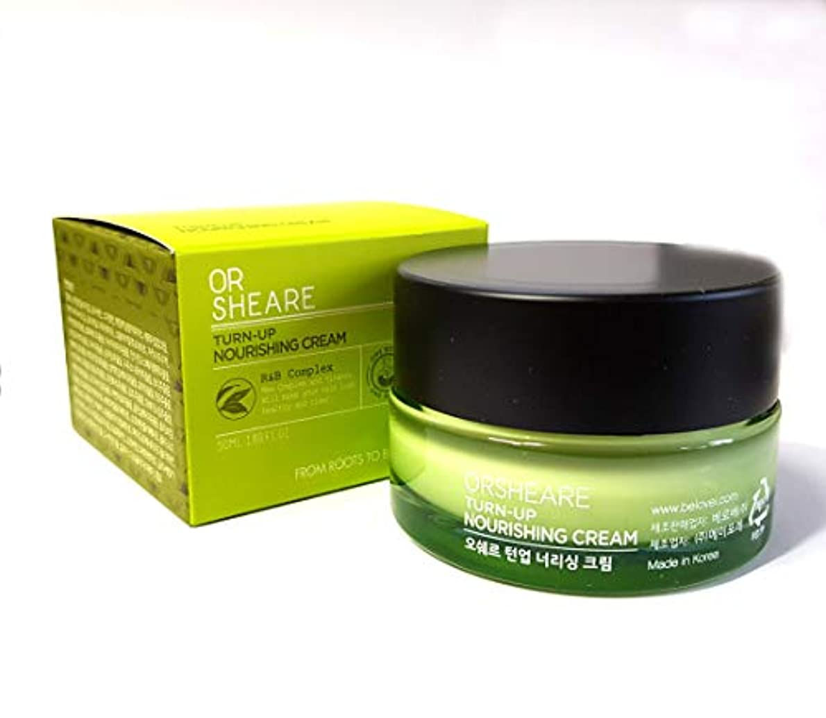 暖炉スクワイア朝ごはん[OR SHEARE] トンオプ栄養クリーム50ml / Turn-up Nourishing Cream 50ml / 保湿、再生/Moisturizing,Revitalizing/韓国化粧品/Korean Cosmetics...