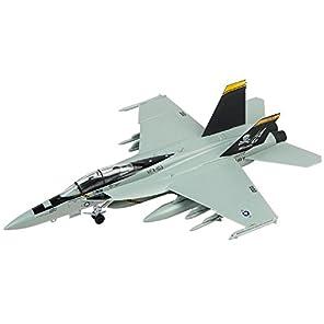 童友社 1/72 凄!プラモデル No.3 アメリカ海軍 F/A-18F スーパーホーネット VFA-103 ジョリーロジャース 色分け済みプラモデル