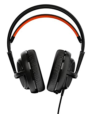 【国内正規品】密閉型 ゲーミングヘッドセット SteelSeries Siberia 200 Black 51133