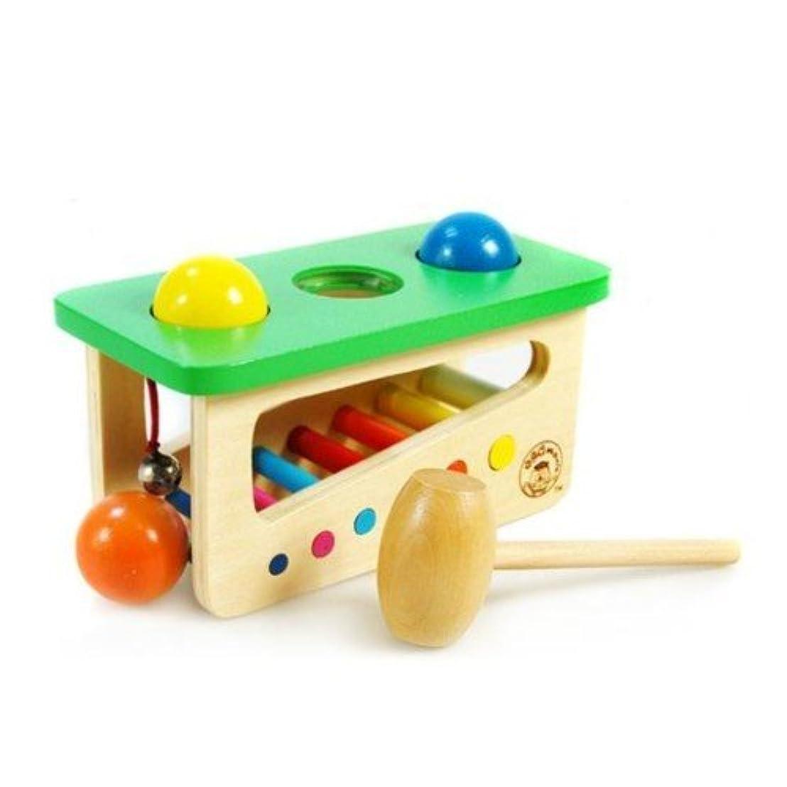 くしゃみ肘掛け椅子揮発性wood sound hammer toy