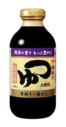 桃屋 つゆ 大徳利 瓶 400ml