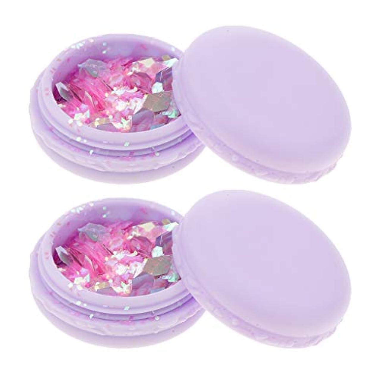 遺伝的逆売上高2ピースチャンキー化粧品キラキラ目唇ボディヘアーフェイスネイルフェスティバルメイク - ピンク