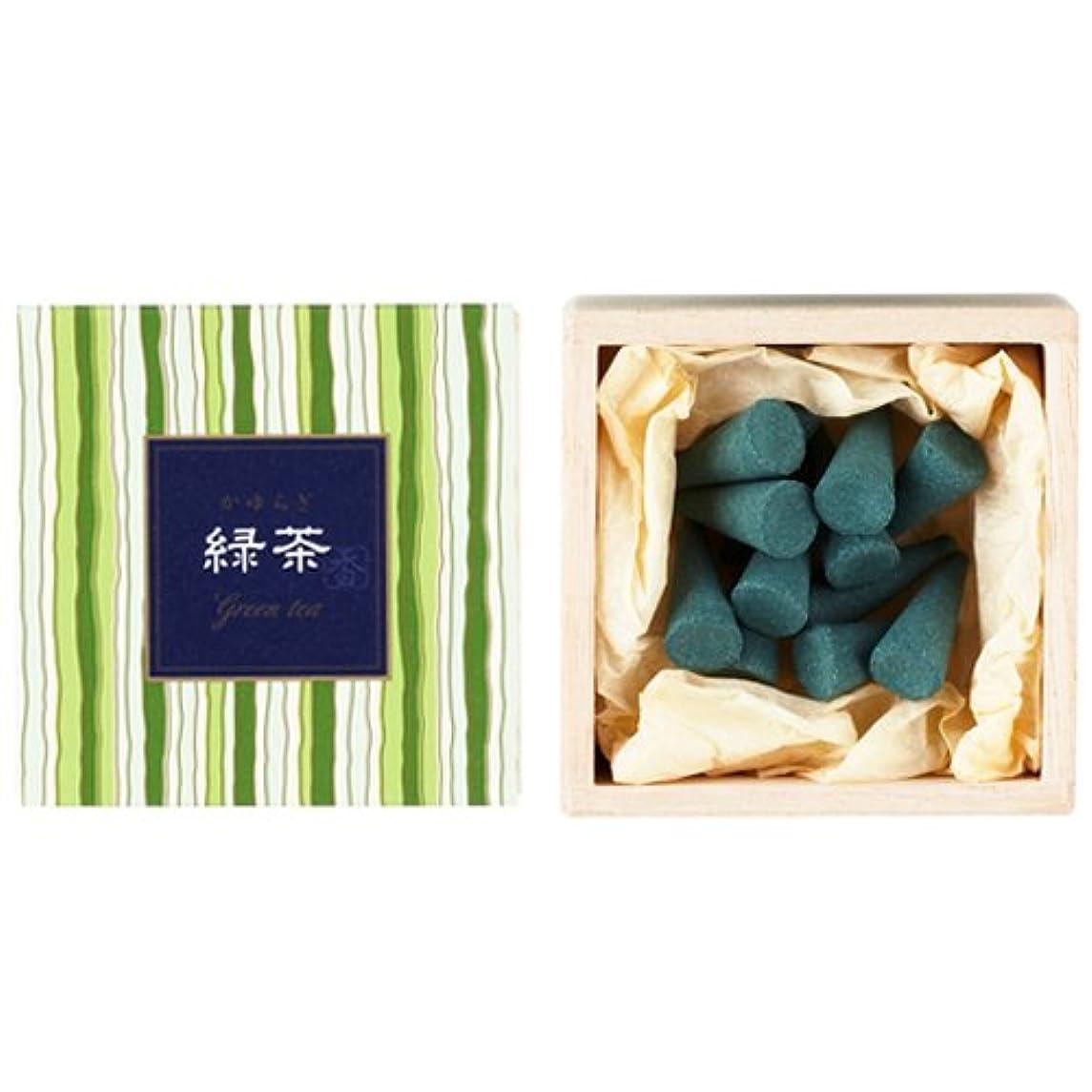 Nippon Kodo – Kayuragi – グリーンティー12 Cones