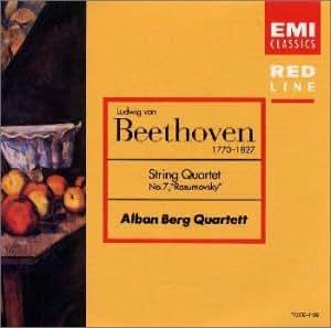 ベートーヴェン : 弦楽四重奏曲第7番ヘ長調 「ラズモフスキー第1番」