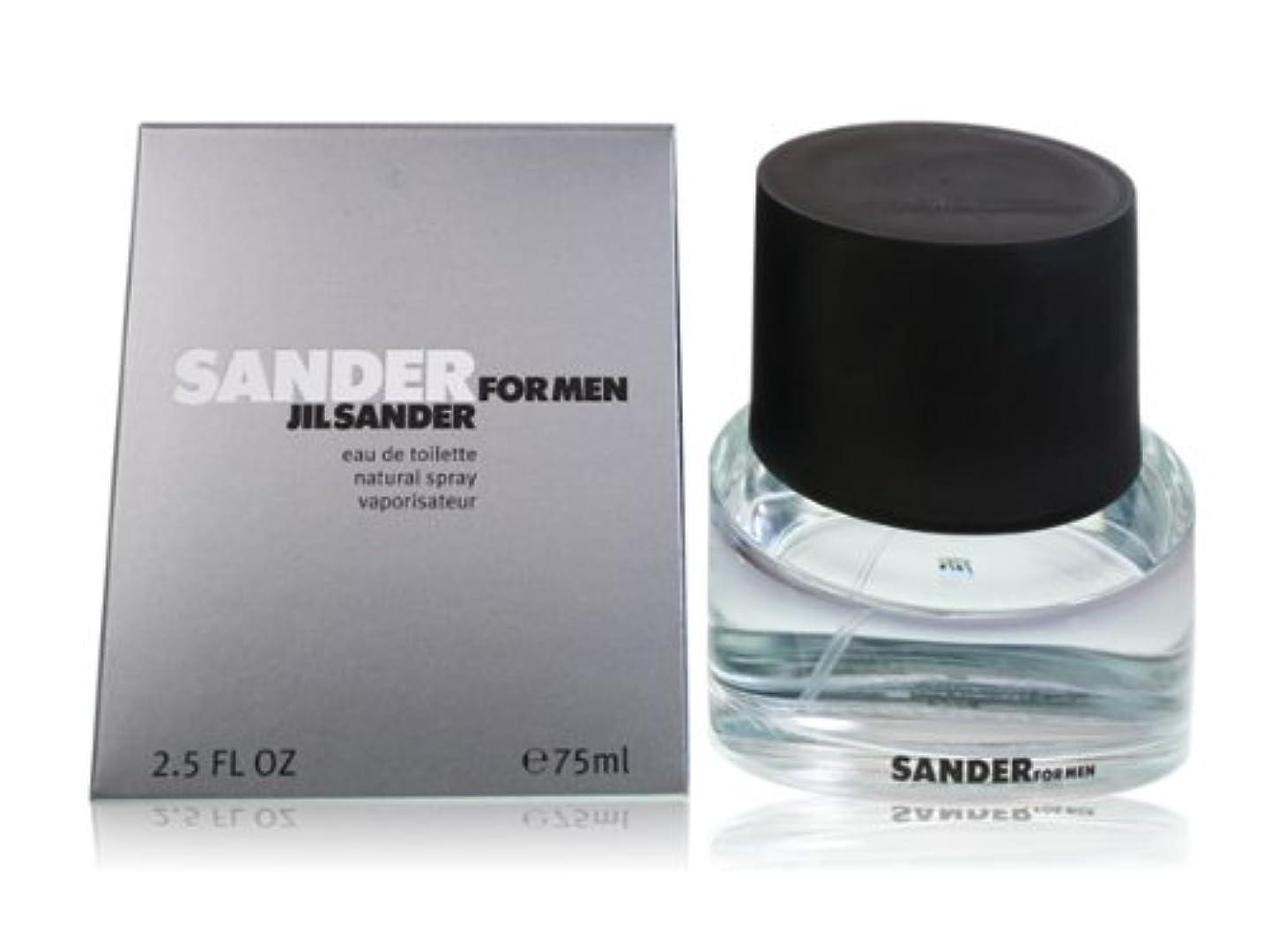 カセット雇用者振りかけるジル サンダー サンダー フォーメン オードトワレ 75ml メンズ 香水 ジルサンダー