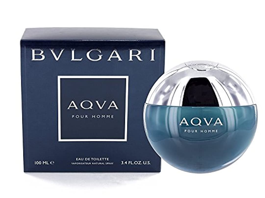 失効焦げブランド名ブルガリ[BVLGARI]アクアプールオム100mlオードトワレスプレー