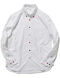 BEAMS LIGHTS シャツ ワイシャツ マルチボタンオックスフォードシャツ メンズ