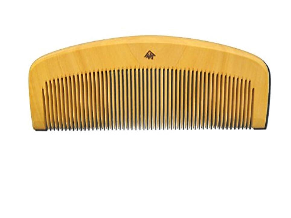 持続的メキシコ事実薩摩つげ櫛 とき櫛 三寸五分 細歯