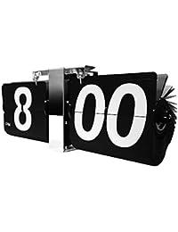 空港の運行標示版をモチーフにした壁掛け時計!特大フリップ掛け時計【EM-F018-B】