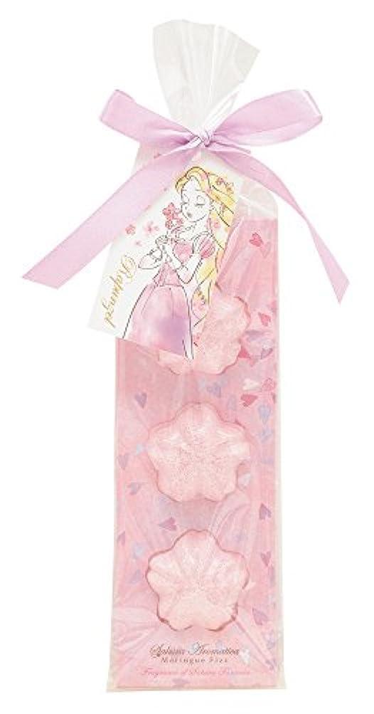 内側プレートアナログディズニー 入浴剤 バスフィズ ラプンツェル サクラアロマティカ 桜の香り 30g DIT-6-02