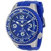 時計 Swiss Legend メンズ 21818S-C-DBD Neptune Royal Blue Dial Royal Blue Silicone Watch [並行輸入品]