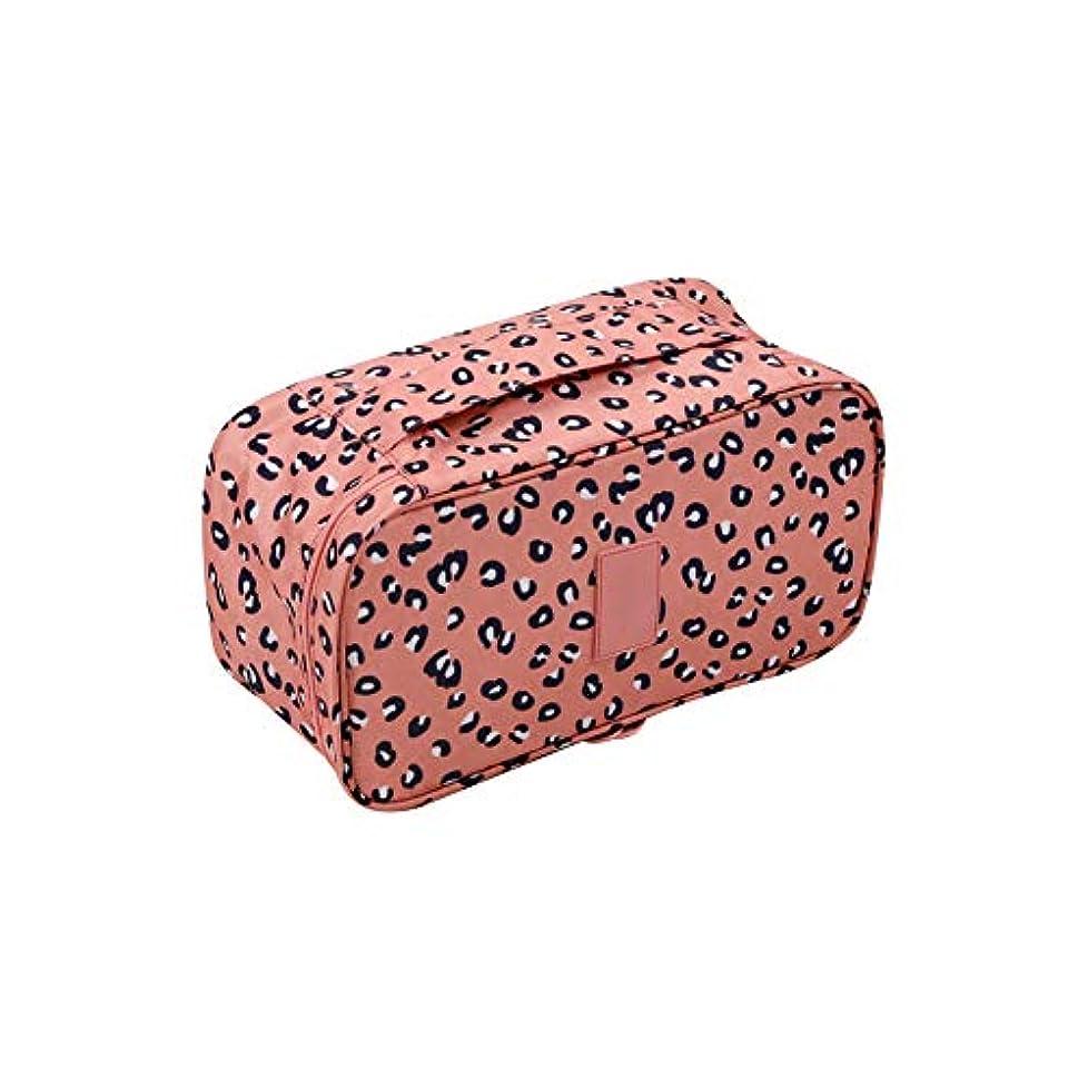 降臨メガロポリス免除トラベルウォッシュバッグ化粧ポーチマネージャスタイルの4種類の可能なキュートなトートショッピングバッグ女性のヒョウの財布化粧品袋化粧品袋