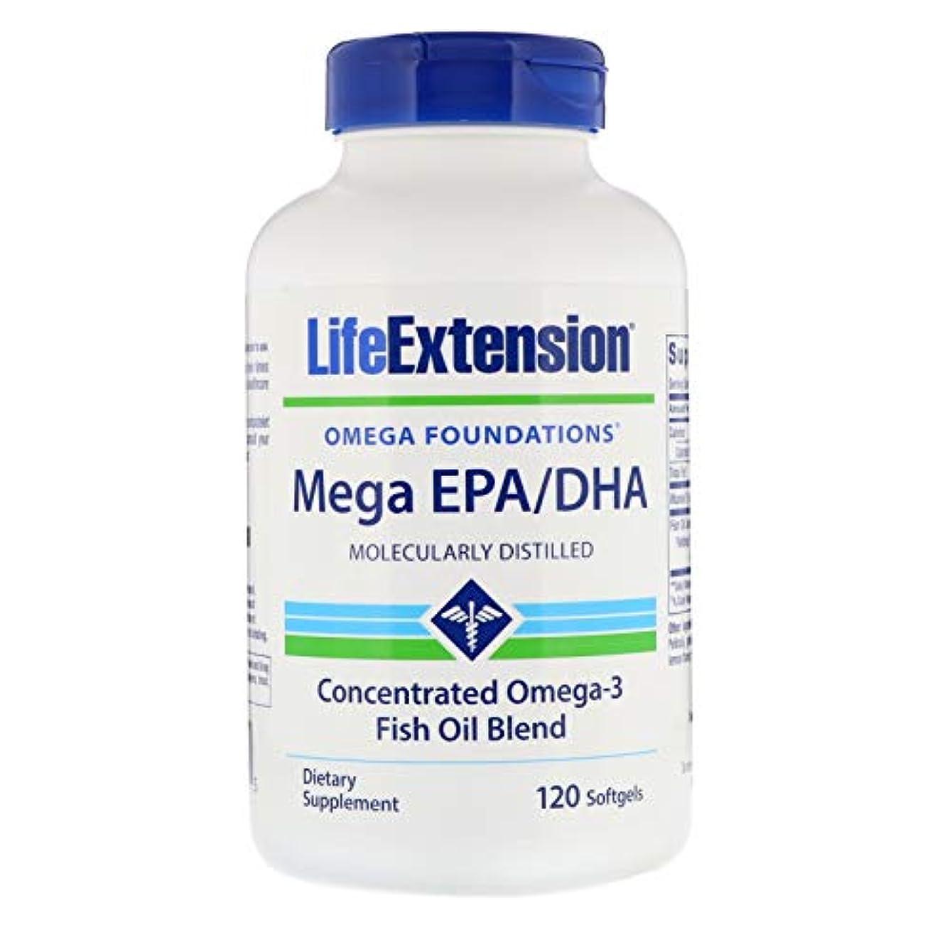 プランター空のホームレスメガ EPA/DHA600 mg含有/粒 120粒ソフトジェルカプセル 海外直送品