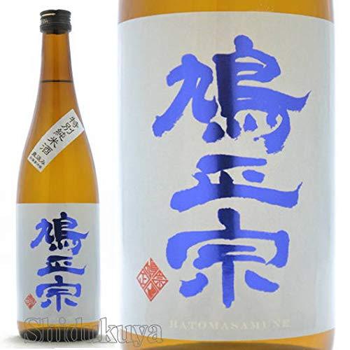 【日本酒】青森県 十和田市 鳩正宗 (はとまさむね) 特別純米生酒 直汲み ブルー 720ml【クール便発送】