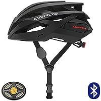 Coros OMNI スマートヘルメット 自転車 骨伝導スピーカー LED 着脱式バイザー