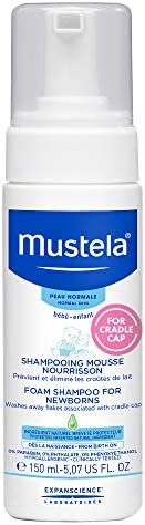 Mustela Newborn Foam Shampoo for Cradle Cap, 150ml
