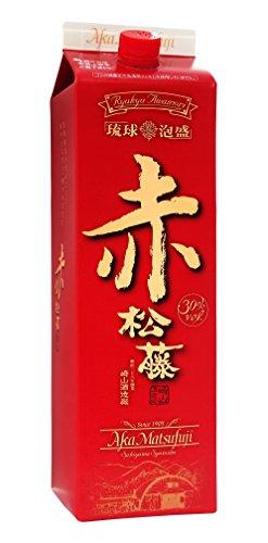 赤の松藤 泡盛 パック 30度 1800ml