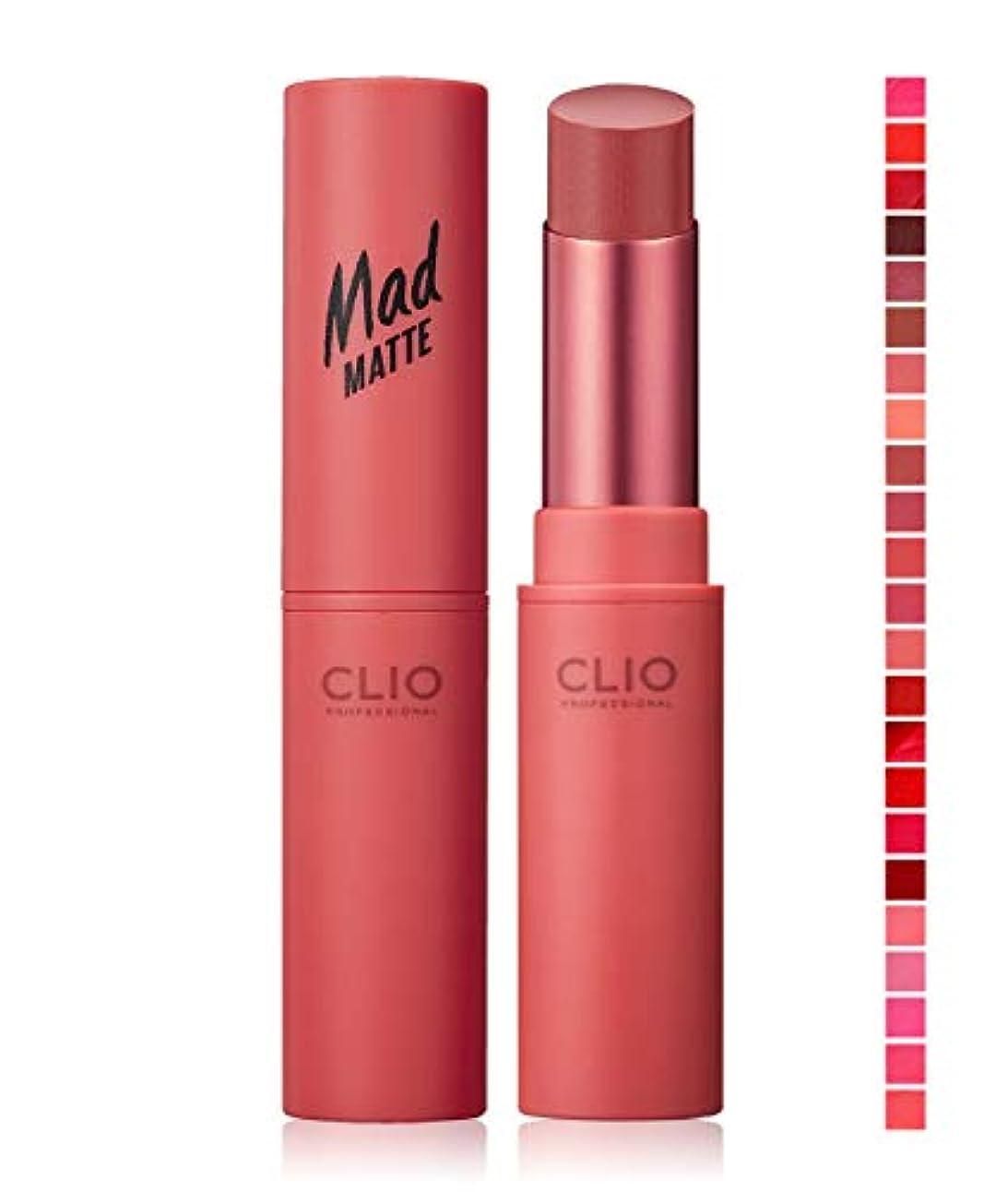 割れ目エンコミウムやりすぎ『CLIO?クリオ』マッド マット リップ #09 MELLOW ROSE【韓国コスメ】【並行輸入品】