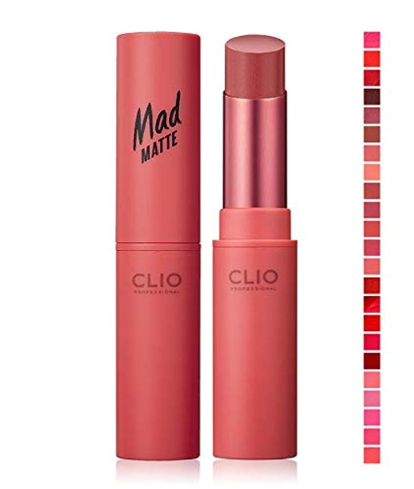 スペイン製作クランシー『CLIO?クリオ』マッド マット リップ #09 MELLOW ROSE【韓国コスメ】【並行輸入品】