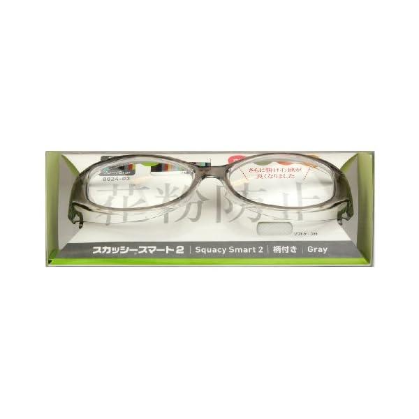 花粉対策眼鏡(めがね・メガネ) スカッシースマ...の紹介画像3