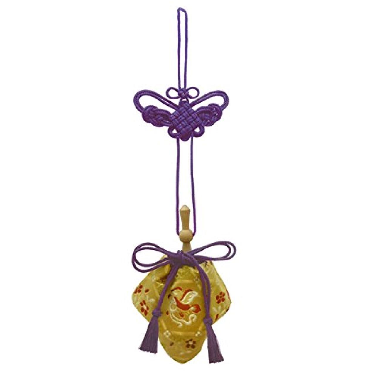 香ばしい旋律的クラッシュ訶梨勒 極品 桐箱入 鳳凰 (紫紐)