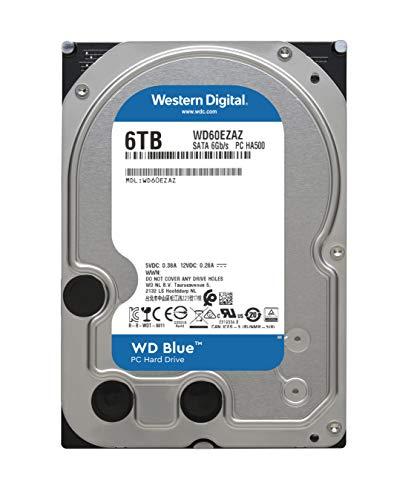 『【国内正規代理店品】Western Digital WD Blue 内蔵HDD 3.5インチ スタンダードモデル 6TB SATA 3.0(SATA 6Gb/s) WD60EZAZ-RT』の2枚目の画像