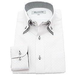 (ブルーム) BLOOM 2017春夏 オリジナル 長袖 ワイシャツ S M L LL 3L 4L 5L 6L 10柄 形態安定 ドゥエボットーニ ボタンダウン