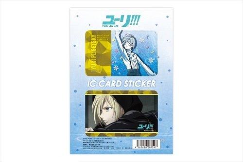 ユーリ!!! on ICE 03ユーリ・プリセツキー ICカードステッカーの詳細を見る