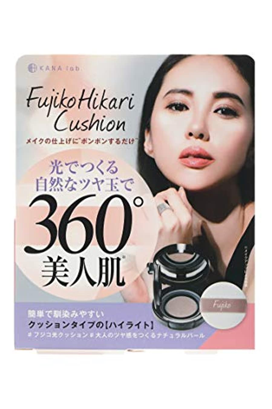 入るむちゃくちゃ生産性Fujiko(フジコ) フジコ 光クッション 3g ファンデーション