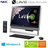 日本電気 LaVie Desk All-in-one - DA370/AAB ファインブラック PC-DA370AAB