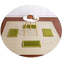 畳敷き天然籐マットカーペットリビングルームベッドルームサマーマット,竹マット - 水リップル,150&180cm