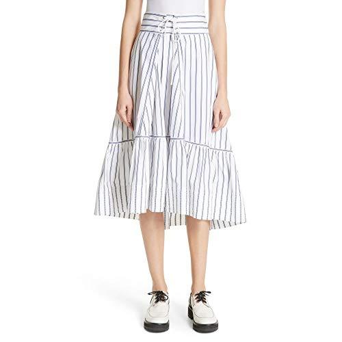 (スリーワン フィリップ リム) 3.1 PHILLIP LIM レディース スカート Stripe Corset Waist Skirt [並行輸入品]