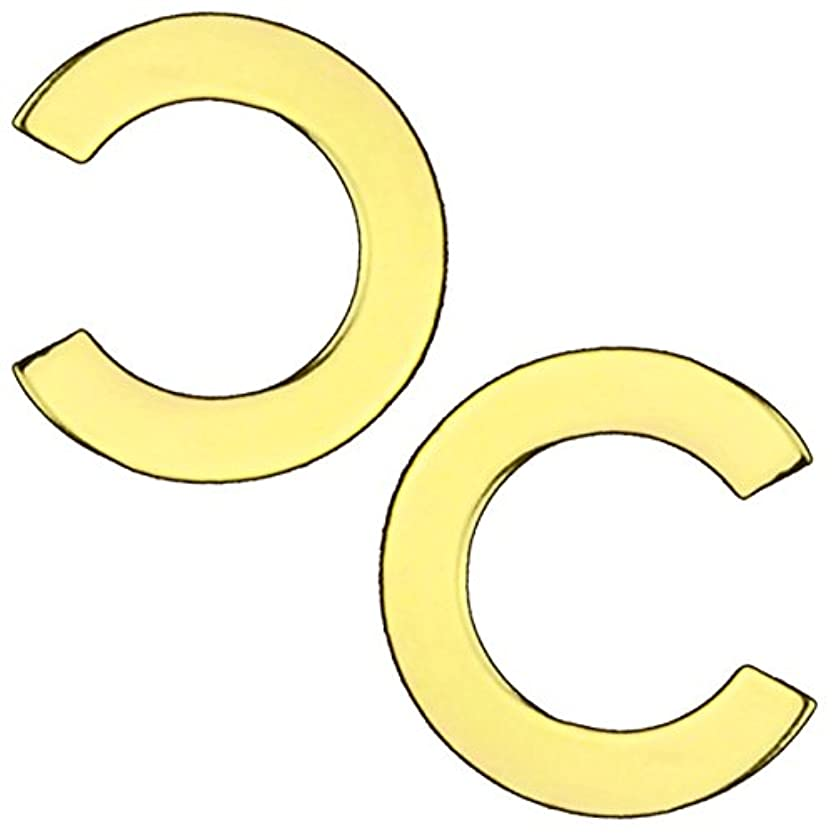 ケーブル領域クスコネイル メタルパーツ ゴールド10枚入り 選べる3サイズ (PA-G9.C大)