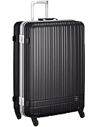 [ハンズプラス] スーツケース h+;ライトシリーズ フレーム;MDBL 92L   92L 75cm 5.2kg 2430000388057