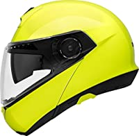 シューベルト / SCHUBERTH フリップアップ ヘルメット C4, カラー:Fluoイエロー, サイズ:55