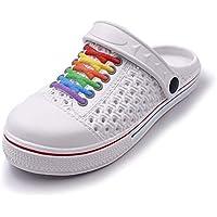 WBuffalo Kids Garden Clogs Comfortable Slip-on Casual Water Shoe