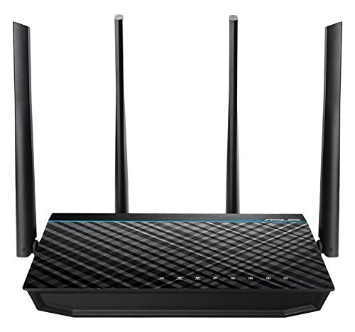 ASUS RT-ACRH17 Concurrent Dual Band AC1700 Wi-Fi Wireless Router with Gigabit LAN Ports USB 3.0 and AiRadar Beamforming Technology [並行輸入品]