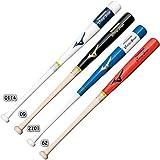 ミズノ 実打可能トレーニングバット 1CJWT10185 85cm/1000g 平均 カラー: ホワイト×ネイビー