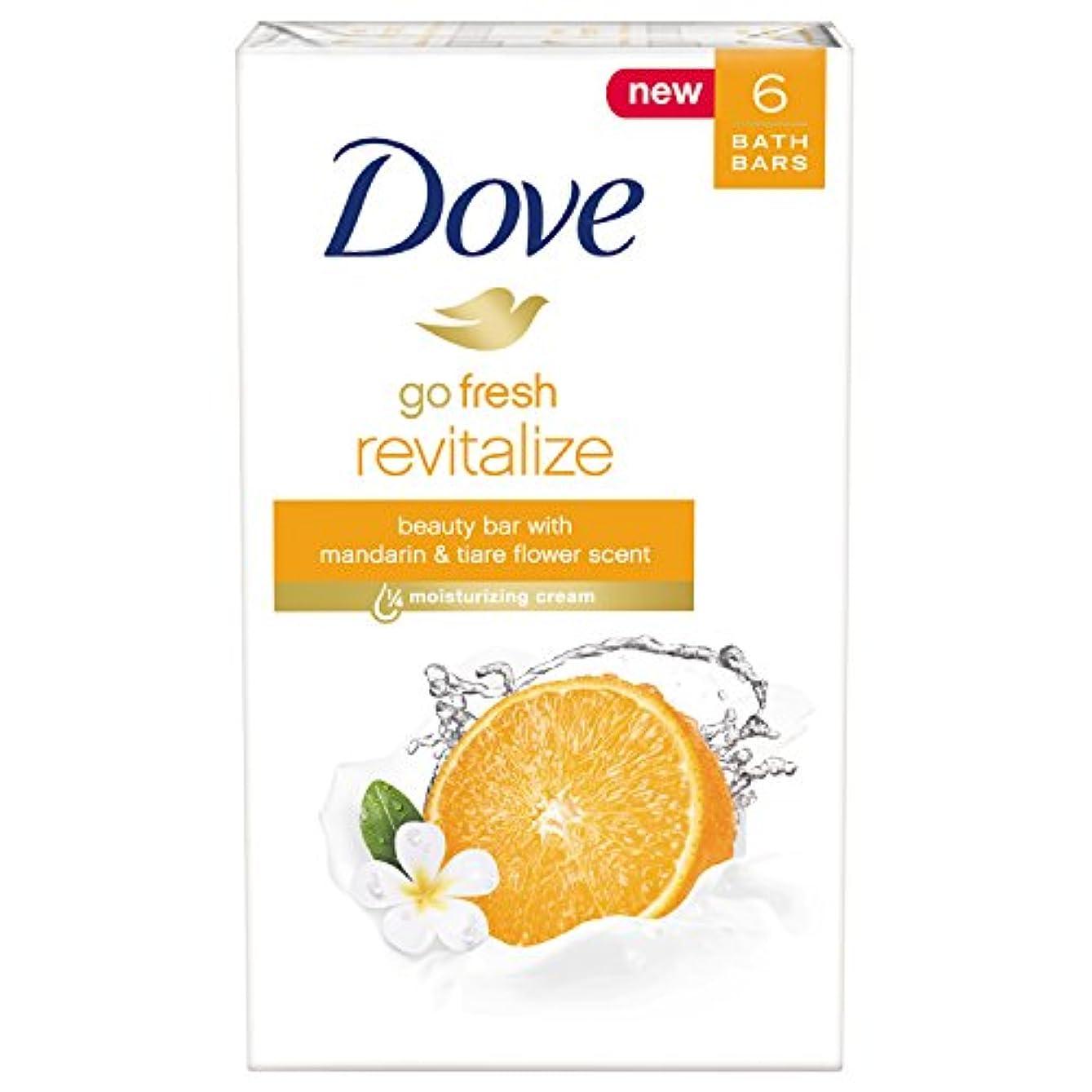 特許偶然の件名Dove 新鮮な美しさバー、マンダリンとティアレフラワー、4オンス、6バーを移動します 6バー 生き返ら マンダリンとティアレフラワー