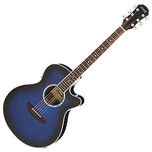 Legend レジェンド エレアコギター ブルーシェード ソフトケース付 FCO-STD BLS