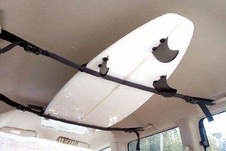【PCA】サーフボードラックベルト 車内積載 サーフボードキャリア ストラップ